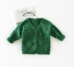 Baby/Toddler Evergreen Knot Cardigan