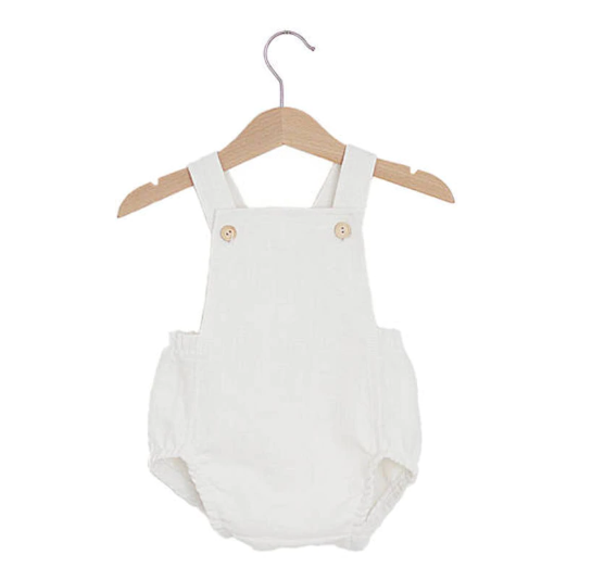 Baby/Toddler White Bubble Romper