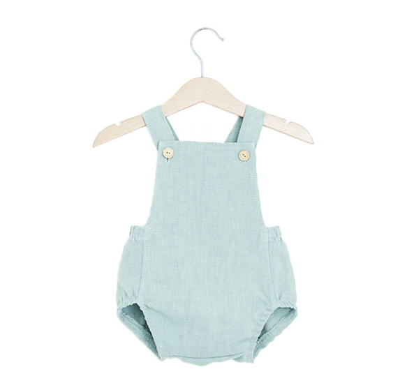 Baby/Toddler Light Blue Bubble Romper