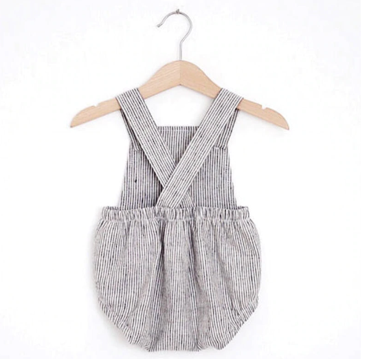 Baby/Toddler Stripe Bubble Romper