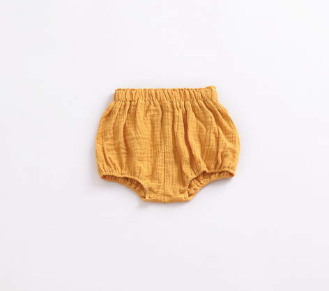 Baby/Toddler Mustard Linen Bloomers