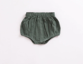 Baby/Toddler Olive Linen Bloomers
