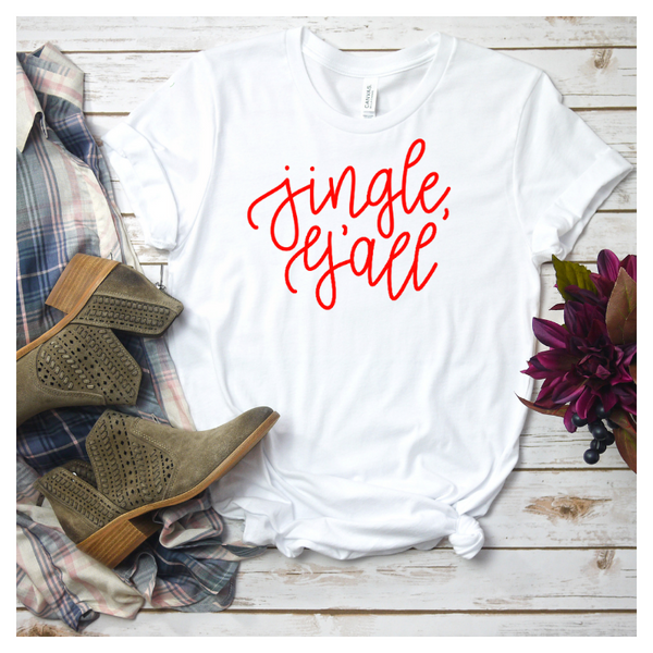 Jingle, Y'all Women's Graphic Tee