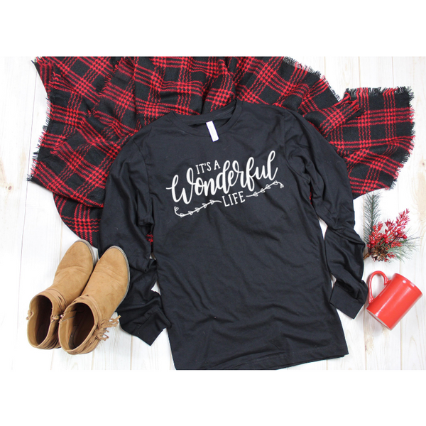 It's a Wonderful Life Women's Long Sleeve Graphic Shirt