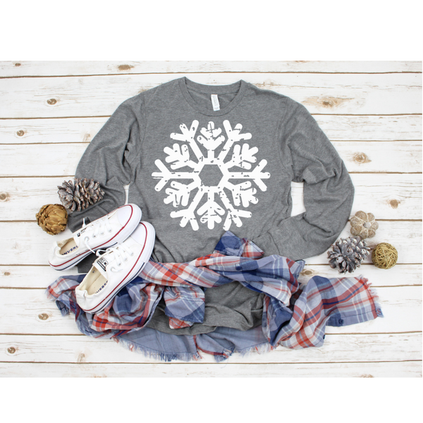 Snowflake Women's Long Sleeve Shirt