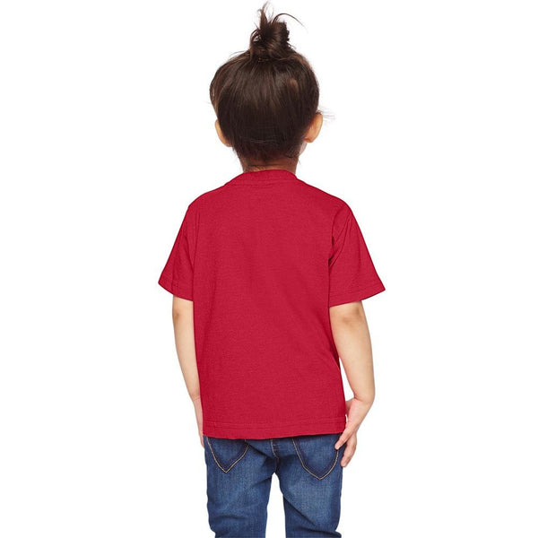 ORIGINAL Graphic Toddler Shirt - Heather Red - Choose Love
