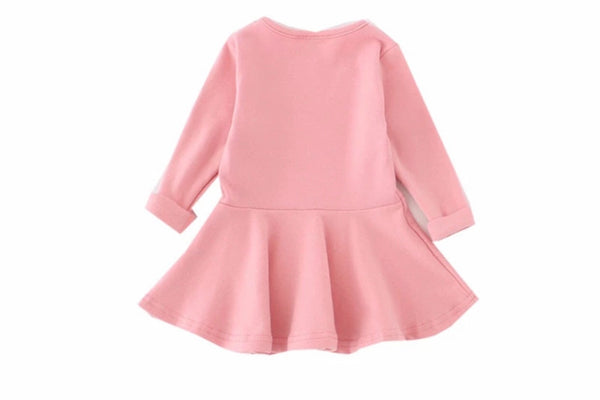 READY TO SHIP Baby/Toddler/Kids Pink Swing Dress