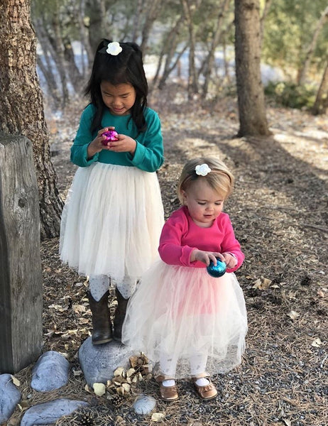 Toddler/Kids Rose Tulle Dress