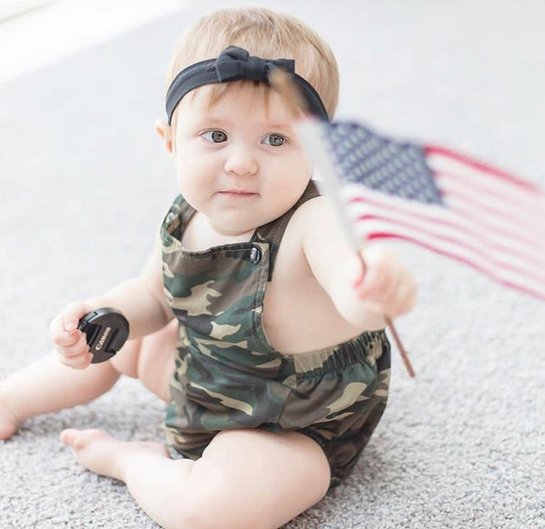 Baby/Toddler Camouflage Romper