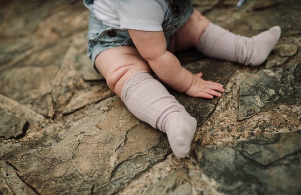 Baby/Toddler Blush Knee High Socks