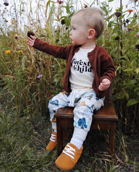 Baby/Toddler/Kids Brown Cardigan