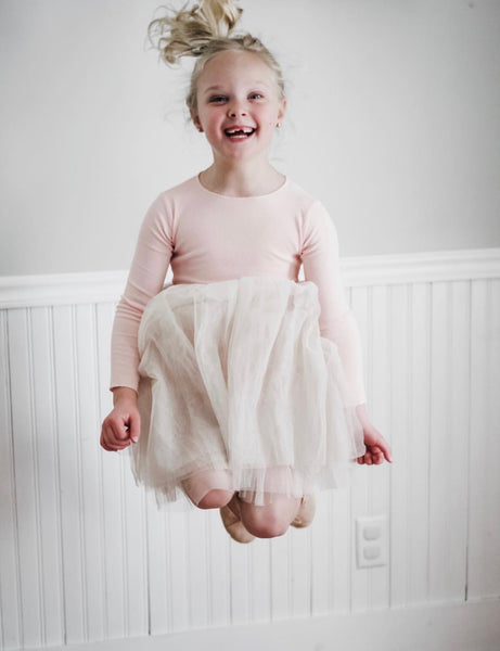 Toddler/Kids Mauve Tulle Dress