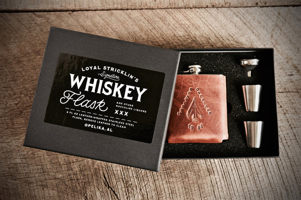 Heritage Overland Whiskey Flask