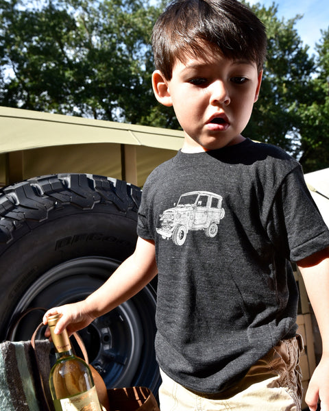 Heritage Overland Toddler/Youth T-Shirt