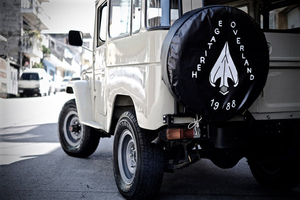 Heritage Overland Tire Cover