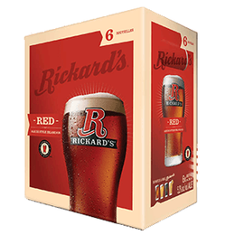 Rickards Red 6 Btl 341ML
