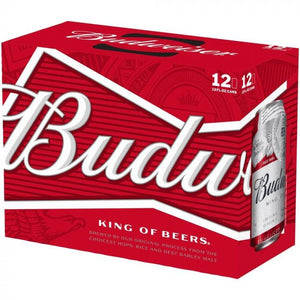 Budweiser 12 Can Ctn 355ML