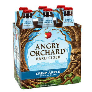 ANGRY ORCHARD CRISP APPLE 6 BOTTLES