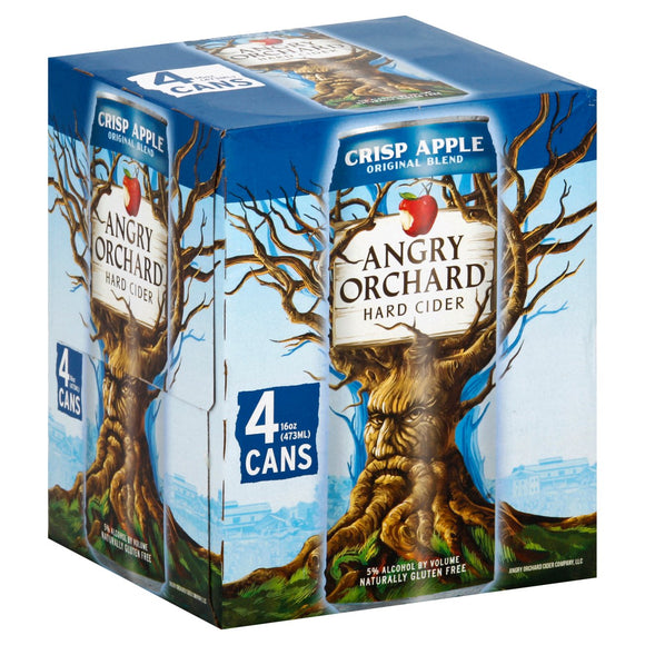 ANGRY ORCHARD CRISP APPLE 4PK