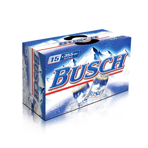 Busch 15 Can Ctn 355ML