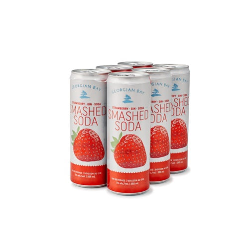 GEORGIAN BAY STRAWBERRY SMASHED 6 CANS