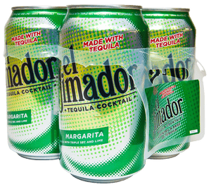 EL JIMADOR NEW MIX MARGARITA 4 CANS