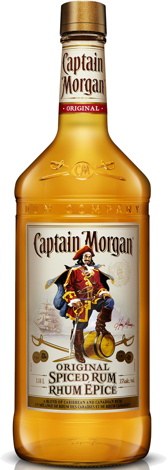 CAPTAIN MORGAN SPICED PET 1.14