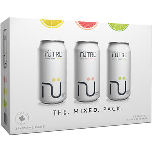 NUTRL VODKA SODA 24 MIX PACK