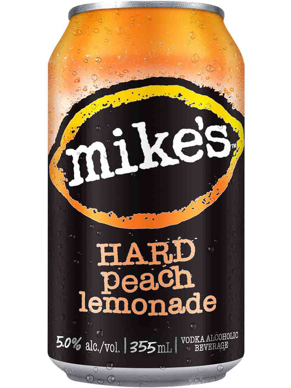 MIKE'S HARD PEACH 6 CANS