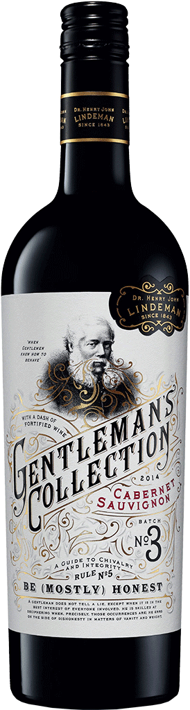 LINDEMAN'S GENTLEMAN'S COLLECTION CABERNET SAUVIGNON 750 ML