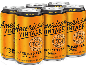 AMER. VIN. HARD PEACH ICED TEA