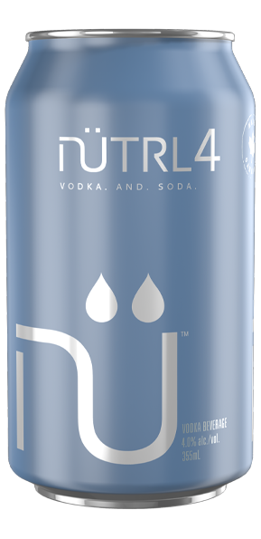 NUTRL VODKA AND SODA 4%