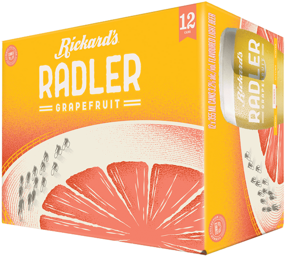 Rickards Radler12Can Ctn 355ML