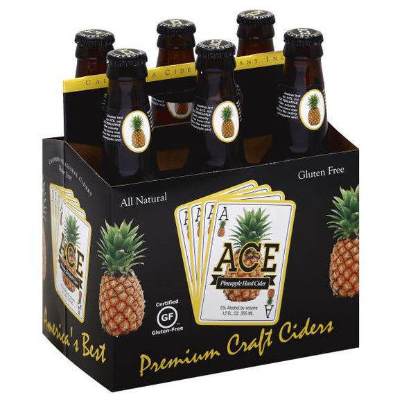 ACE PINEAPPLE HARD CIDER 6 BTL