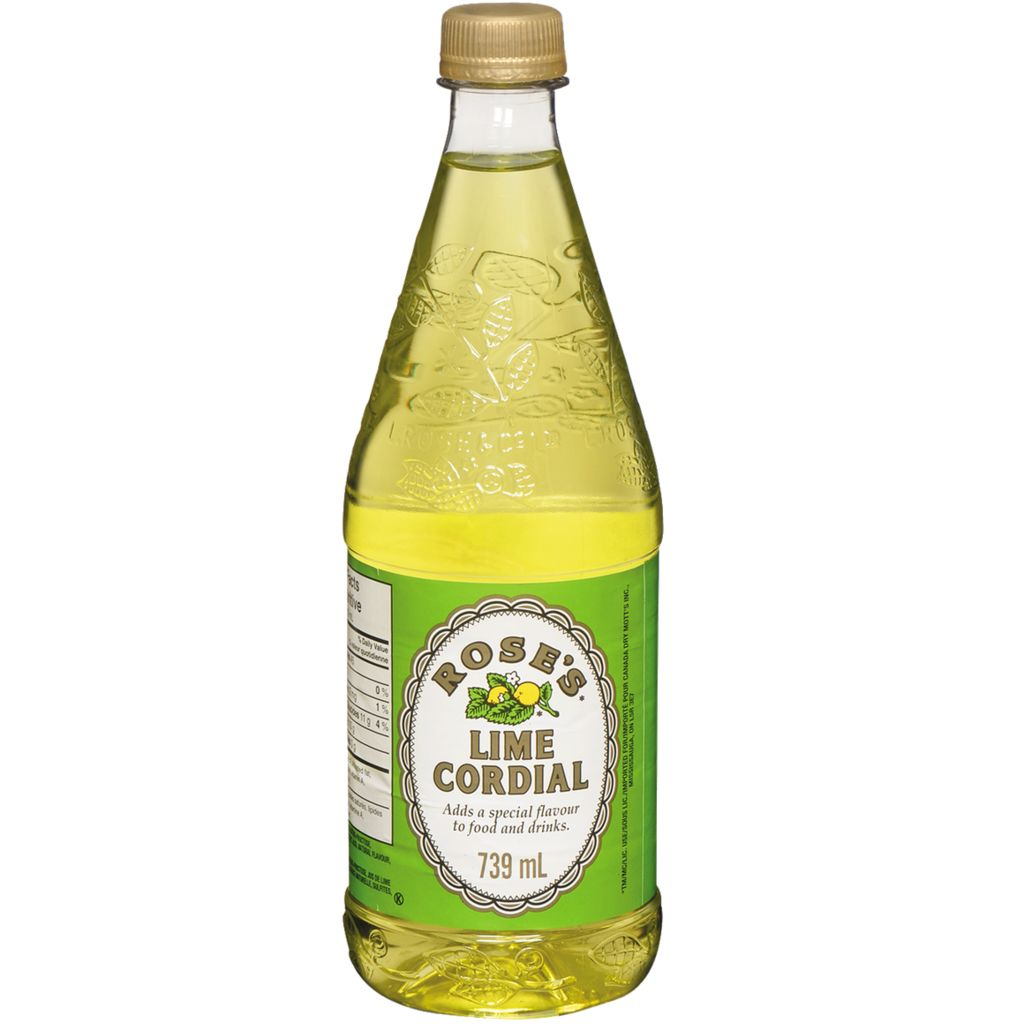 ROSE'S LIME CORDIAL (PET)