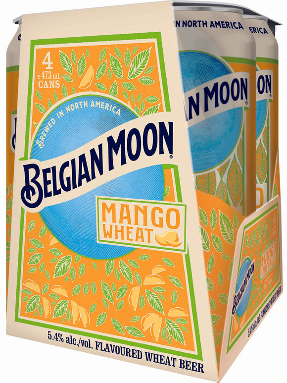 BELGIAN MOON MANGO 4 CAN 473 ML