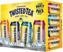 TWISTED TEA VARIETY PACK 12 CAN