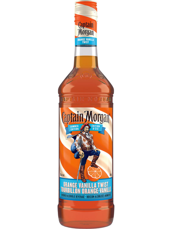 CAPTAIN MORGAN ORANGE VANILLA TWIST 750 ML