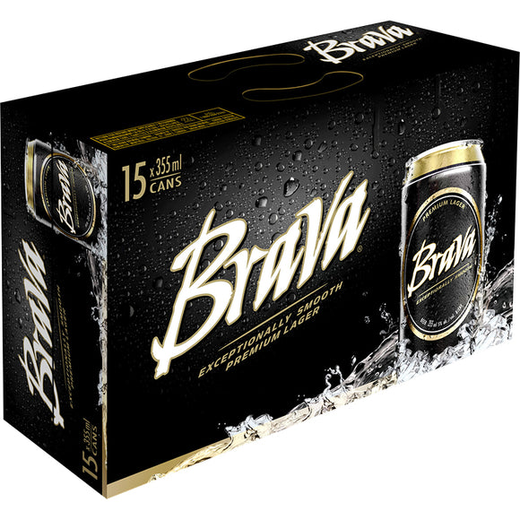 BRAVA 15 PACK CAN 355ML
