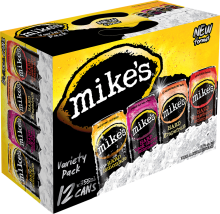 MIKE'S VARIETY 12 PACK WITH S
