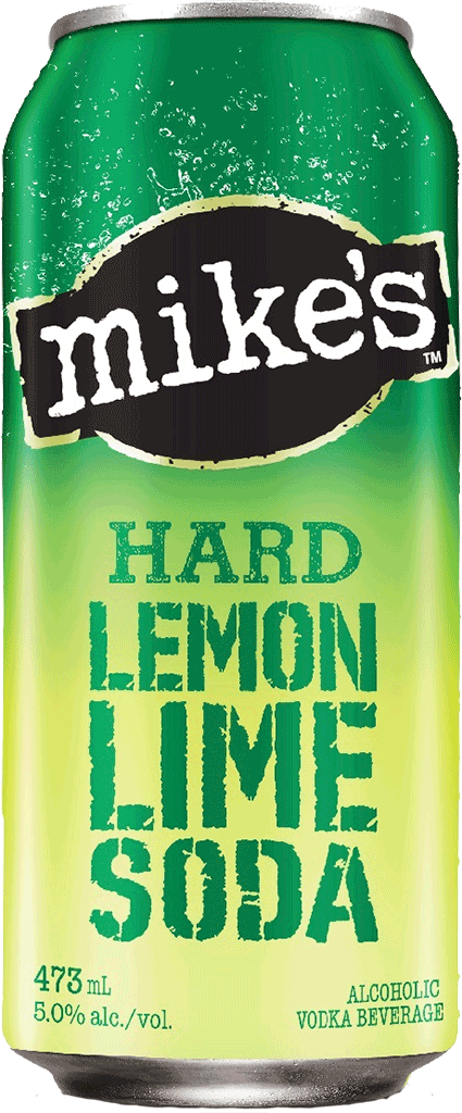 MIKE'S HARD LEMON LIME SODA 473 ML SINGLE CAN