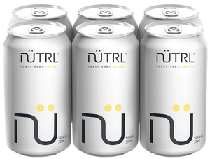 NUTRL VODKA SODA - LEMON 6PK