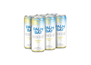 PALM BAY VODKA SODA MANGO PINEAPPLE 6 CANS