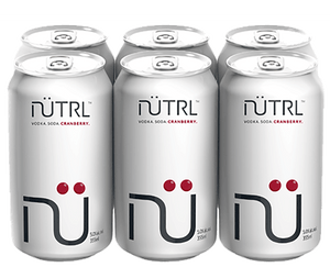 NUTRL SODA - CRANBERRY