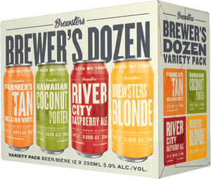 BREWSTERS BREWER'S 12 CANS