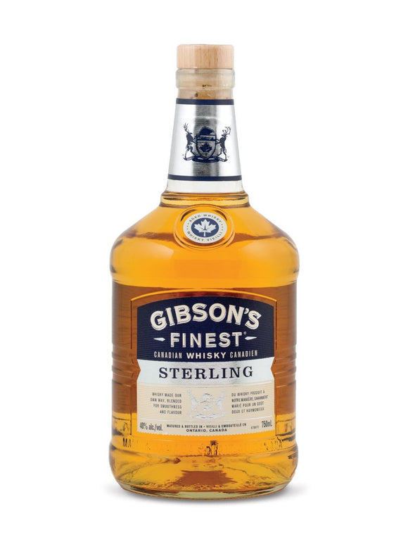 GIBSONS FINEST STERLING 375 ML