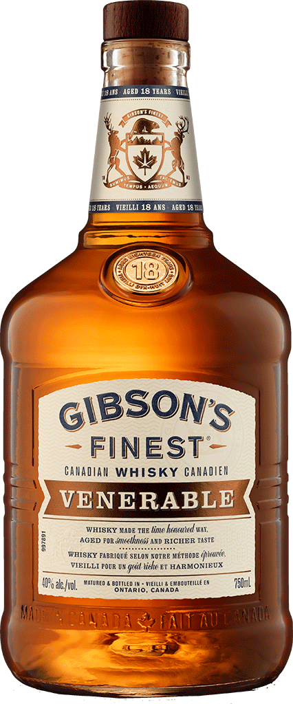 GIBSON'S FINEST RARE 18 YR OLD 750 ML