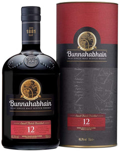 BUNNAHABHAIN 12 YEAR OLD 750 ML
