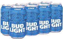 BUD LIGHT 8 PCK CAN