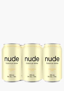 NUDE TEQUILA SODA PINEAPPLE 6 CANS